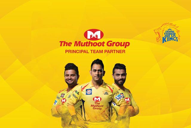 324815f7 Fri Feb 09 2018. The Muthoot Group is CSK's Principal Team Partner